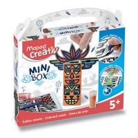 Minibox Maped Creativ – Farebné piesky - Totemy