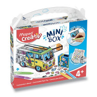 Minibox Maped Creativ - Papierový model - Karavan