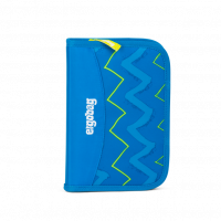 Školský Peračník Ergobag - Modrý zig zag 2019