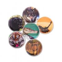 Ergobag Kletties - set divoké zvieratá
