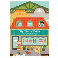Kreatívne samolepky- moje malé mesto