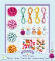 Súprava na výrobu šperkov – koráliky a figúrky