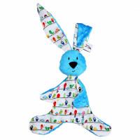 Mom's Care – modrý králiček – muchláčik do postieľky