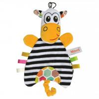 Mom's Care – textilná bábka zebra