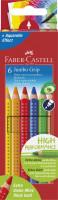 Farbičky Faber-Castell Jumbo Grip - 6 farieb