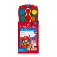 Vodové farby Faber-Castell Connector - 24 farieb