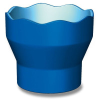 Kelímok na vodu Faber-Castell Click & Go modrý