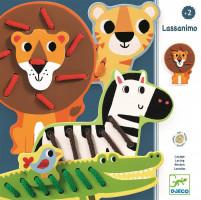 Prešívanie – zvieratká z divočiny