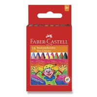 Voskovky Faber-Castell guľaté - 16 farieb