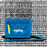 Peňaženka Ergobag  - modro zelená zig zag