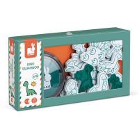 Detské pečiatky Dinosaury - 15 ks