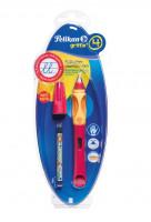 Bombičkové pero Griffix 4 pre ľavákov - červené