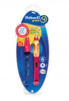 Bombičkové pero Griffix 4 pre pravákov - červené