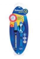 Bombičkové pero Griffix 4 pre pravákov - modré