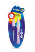 Bombičkové pero Griffix 4 pre pravákov - fialové