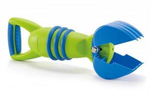 Naberačka piesku zelená - hračka na piesok