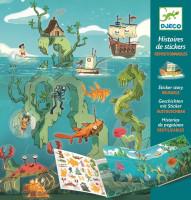 Dobrodružstvo na mori – príbehové samolepky