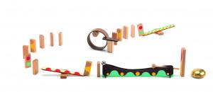 Dominová dráha Zig & Go – 25 ks