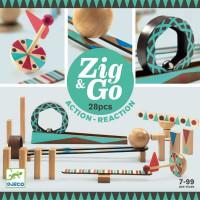 Dominová dráha Zig & Go – 28 ks