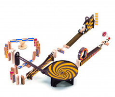 Dominová dráha Zig & Go – 45 ks