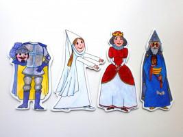 Marionetino – Bábkový balíček bez tyčiek – Kráľovská súprava II