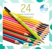 Akvarelové pastelky – 24 ks