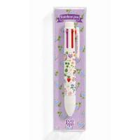 Guľôčkové dúhové pero – Aiko – 6 farieb