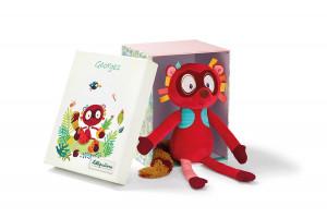 Lilliputiens – lemur Georges – plyšová hračka