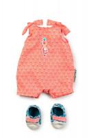 Lilliputiens – letný overal pre bábiky + topánky