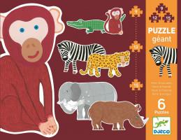Opičiak Henri a priatelia – 9, 12, 15 dielikov
