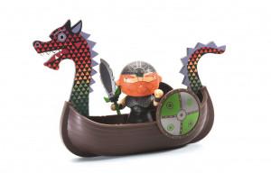 Arty Toys – pirát Drack s vikingskou dračou loďou