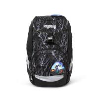 Školský batoh Ergobag prime – Black 2020 - reflexný