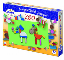Magnetické puzzle – ZOO