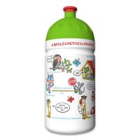 Zdravá fľaša 0,5 l – Medvedík čistotný, limitovaná edícia