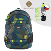 Školský ruksak coocazoo ScaleRale, Polygon Bricks + zdravá fľaša za 0,05 EUR