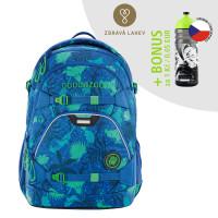 Školský batoh Coocazoo ScaleRale, Tropical Blue + zdravá fľaša za 0,05 EUR