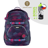 Školský ruksak coocazoo ScaleRale, Purple Illusion + zdravá fľaša za 0,05 EUR