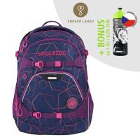 Školský ruksak coocazoo ScaleRale, Laserbeam Plum + zdravá fľaša za 0,05 EUR