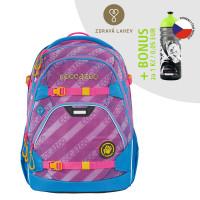 Školský ruksak coocazoo ScaleRale, MeshFlash Neonpink + zdravá fľaša za 0,05 EUR