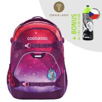 Školský ruksak coocazoo ScaleRale, OceanEmotion Galaxy Pink + zdravá fľaša za 0,05 EUR
