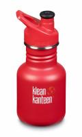 Detská nerezová termofľaša Klean Kanteen Kid Classic w/Kid Sport Cap 3.0 - ladder truck matte 355 ml