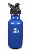 Nerezová fľaša Klean Kanteen Classic w/Sport Cap 3.0 - coastal waters 532 ml
