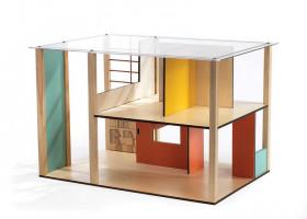 Domček pre bábiky – moderný domček