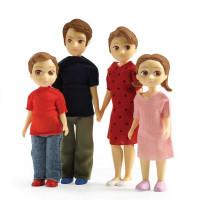 Domček pre bábiky – rodina Toma a Marion