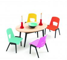 Domček pre bábiky – jedáleň