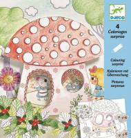 Priestorové maľovanky – U myšky doma
