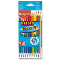 Pastelky Maped Color´Peps Duo- obojstranné pastelky