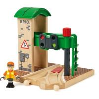 Brio - Signálna stanica s výhybkou