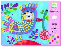 Mozaika – vták a lienka