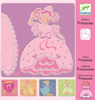 Kresliace šablóny – Princezné
